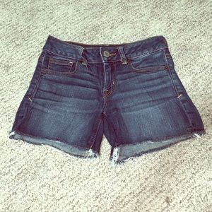 American Eagle Super Stretch Denim Shorts